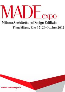 MADEexpo 2012