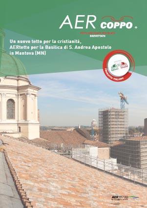AERtetto per la Basilica di S. Andrea Apostolo in Mantova (MN)'