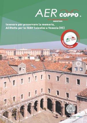 AERtetto per lo IUAV Tolentini a Venezia (VE)'