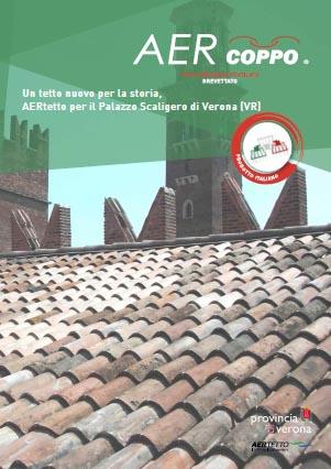 AERtetto per il Palazzo Scaligero di Verona (VR)'