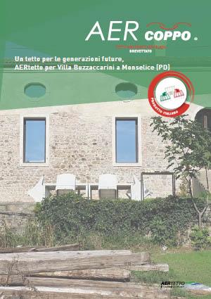 AERtetto per Villa Buzzaccarini a Monselice (PD)'