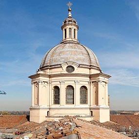 Tetto ventilato Aertetto Basilica di Sant'Andrea Apostolo Mantova
