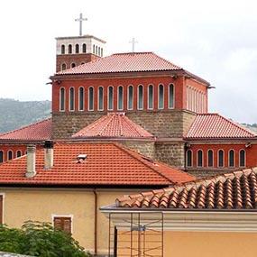 Tetto ventilato Aertetto Chiesa Beata Vergine Assunta Tertenia Ogliastra