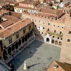 Tetto ventilato Aertetto palazzo scaligero Verona