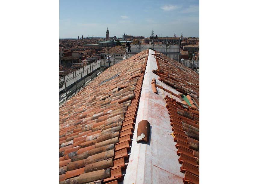 Sistema AERcoppo® per l'Ex Convento dei Tolentini, Università IUAV di Venezia (VE), 2011-2013
