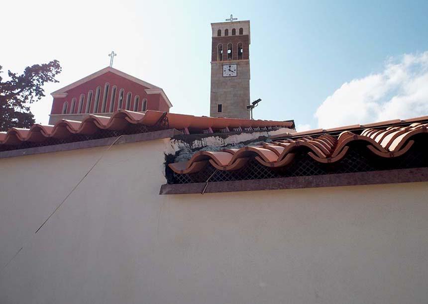 Sistema AERcoppo® per la Chiesa della Beata Vergine Assunta, Tertenia (OG), 2014