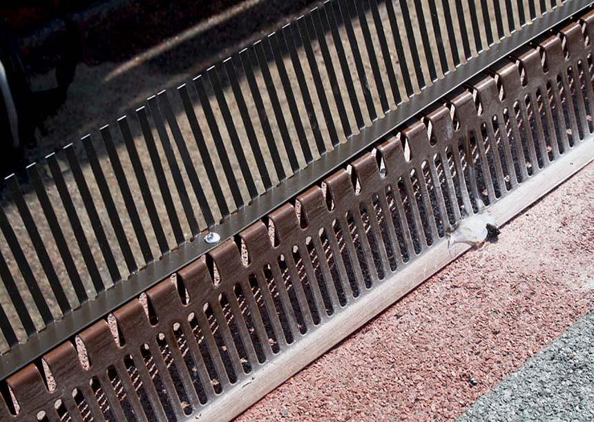 pettine parapasseri della griglia di partenza universale e portante
