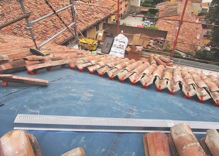 Sistema AERcoppo® per Villa Zamboni, Valeggio sul Mincio (VR), 2015
