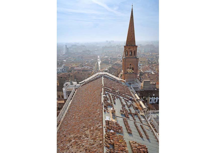 Sistema AERcoppo® per la Basilica di S. Andrea Apostolo in Mantova (MN), 2015
