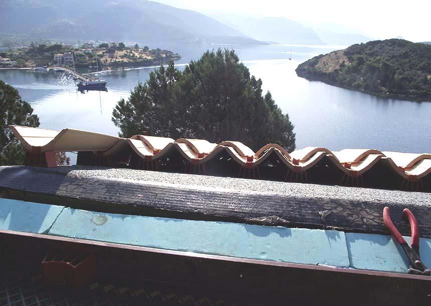 Edilizia residenziale, Isola Trizonia (Grecia)