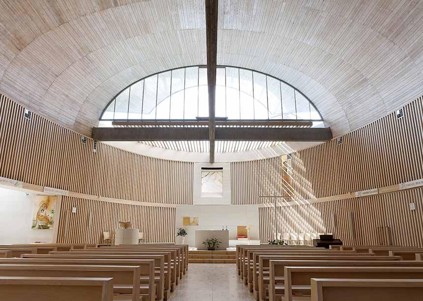 Sistema AERcoppo® per la Chiesa di S. Stefano a Cividale (UD)