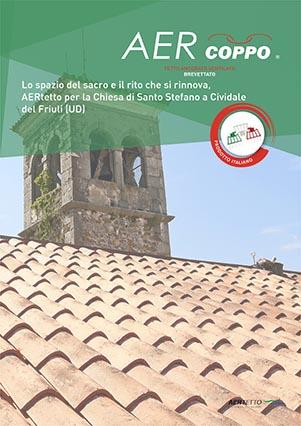 AERtetto per la Chiesa di Santo Stefano Cividale del Friuli (UD)'