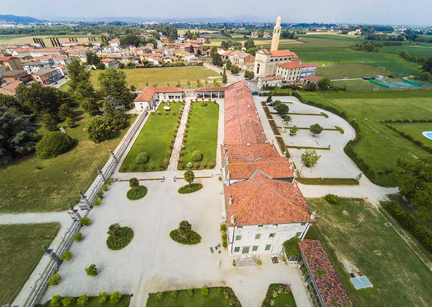 AERcoppo® per Villa Ghislanzoni Curti (VI)