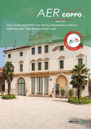 AERtetto per Villa Ghislanzoni Curti (VI)'
