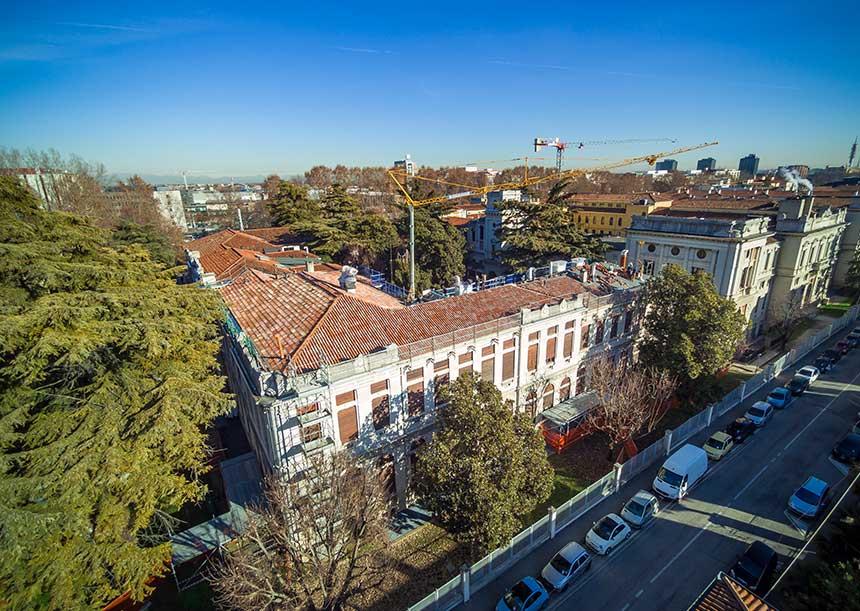 Sistema AERcoppo® per la Facoltà di Ingegneria dell' Università di Padova