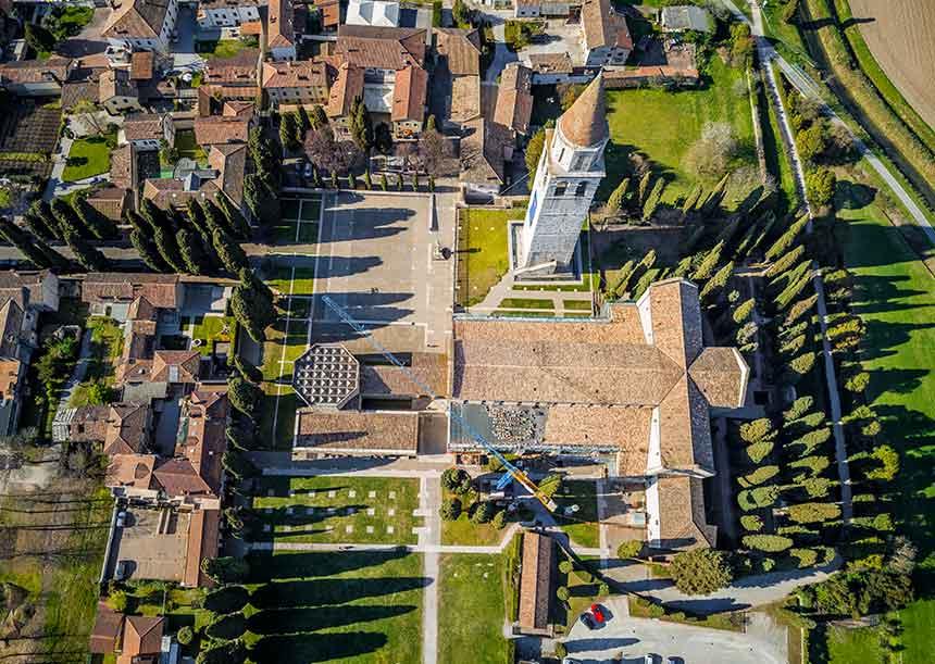 Sistema AERcoppo® per la Basilica Santa Maria Assunta - Aquileia