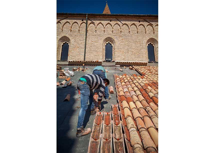 Sistema AERcoppo® per la Basilica Santa Maria Assunta - Aquileia 2019