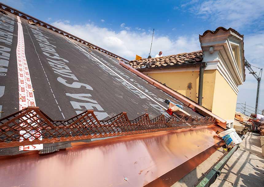 Sistema AERcoppo® per Villa Olivi a Breda di Piave 2019