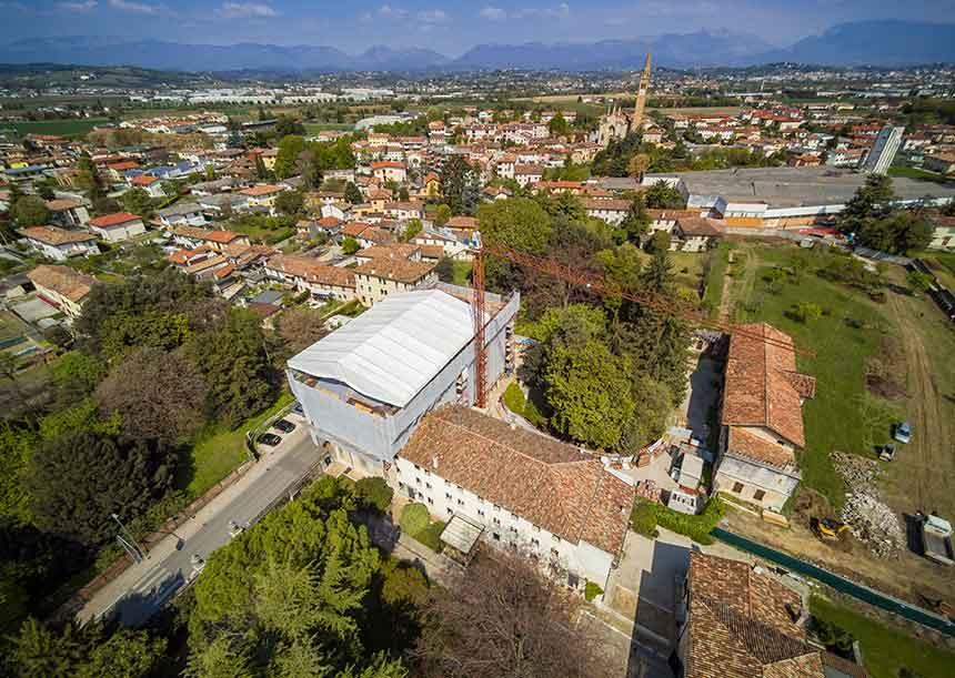 Sistema AERcoppo® per Palazzo Ancilotto a Santa Lucia di Piave (TV) 2019