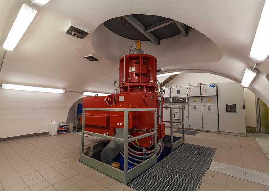 Sistema AERcoppo® per la Centrale idroelettrica di Toblino 2017