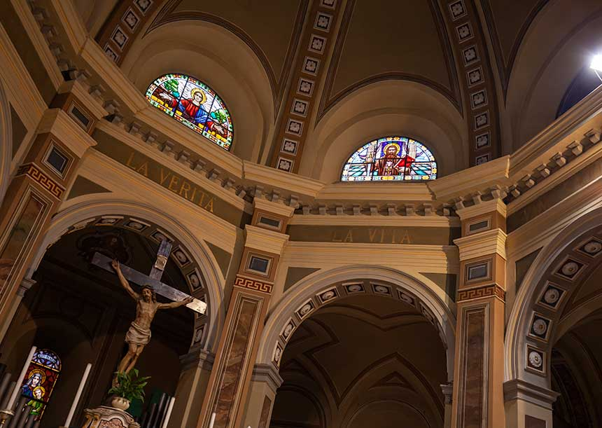 AERcoppo® per la Chiesa di San Bernardino