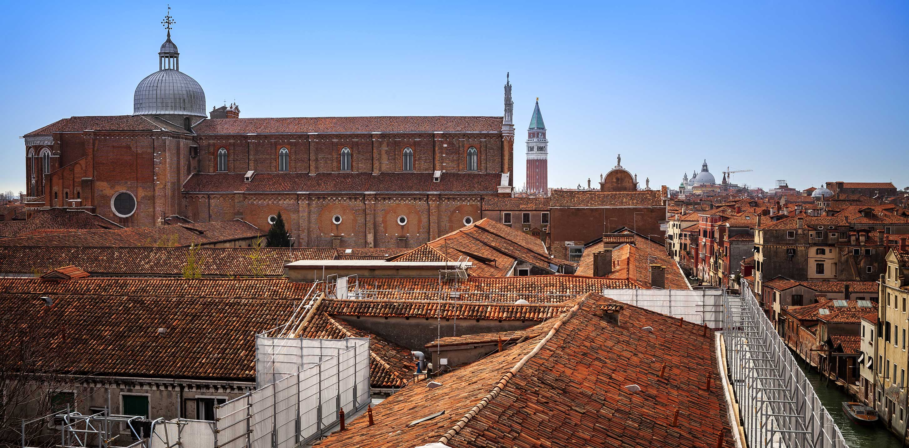 Ristrutturazione tetto Venezia