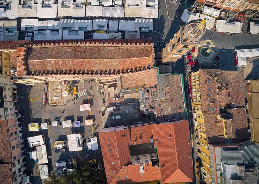 Sistema AERcoppo® per il Palazzo del Podestà di Faenza (RA), 2020