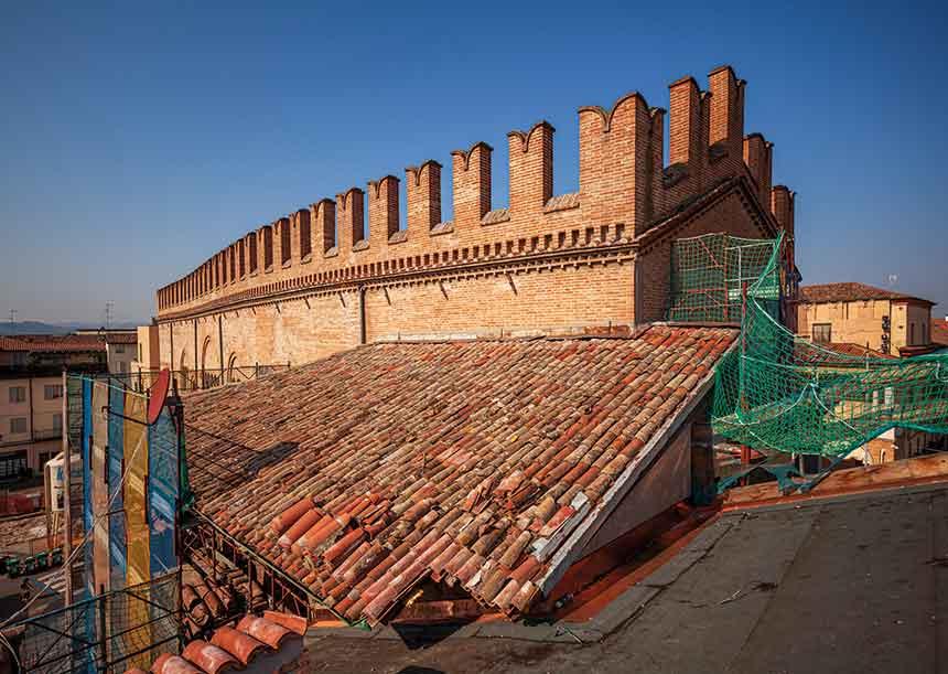 AERcoppo® per il Palazzo del Podestà di Faenza (RA), 2020