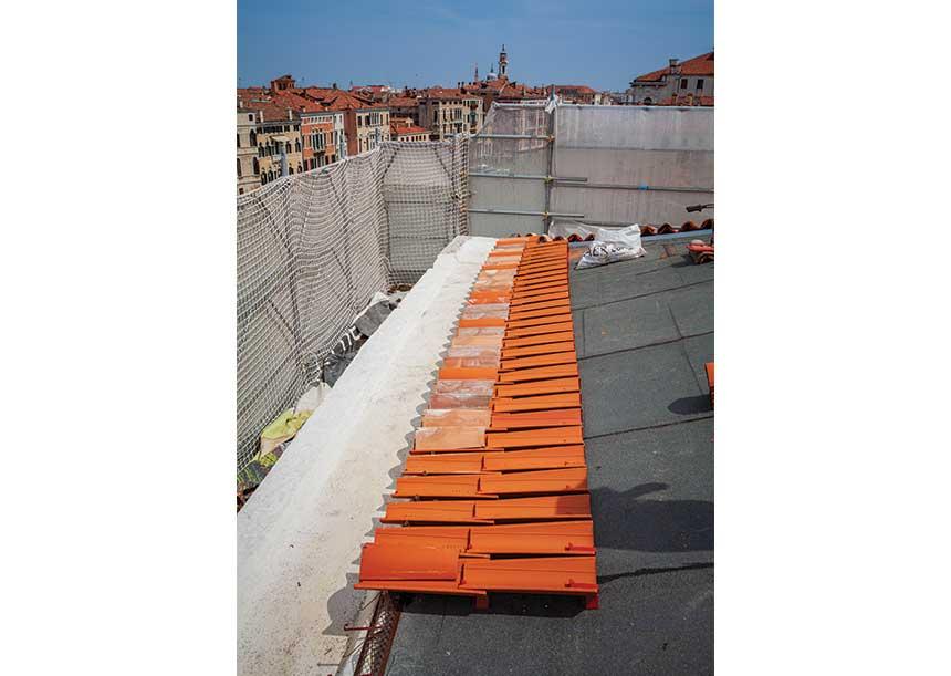 Sistema AERcoppo® per la sede IUAV di Ca' Tron a Venezia 2019